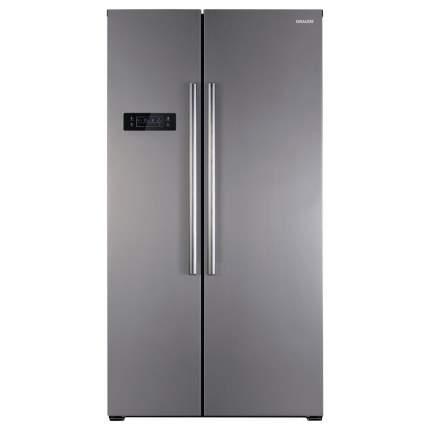 Встраиваемый холодильник Graude SBS 180.0 E Silver