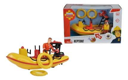 Лодка спасателей Simba Пожарный сэм, 20 см