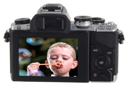 Фотоаппарат системный Olympus OM-D E-M10 DZ Kit Silver