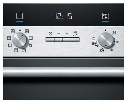 Встраиваемый электрический духовой шкаф Siemens HB23AB540 Silver