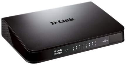 Коммутатор D-Link DGS-1016A Черный