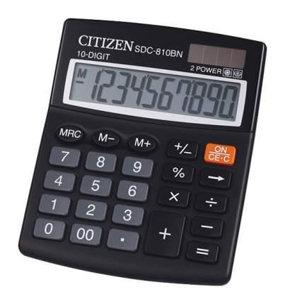 Калькулятор CiTiZEN SDC-810BN Черный
