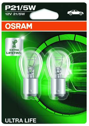 Лампа накаливания автомобильная OSRAM 21 5W (7528)