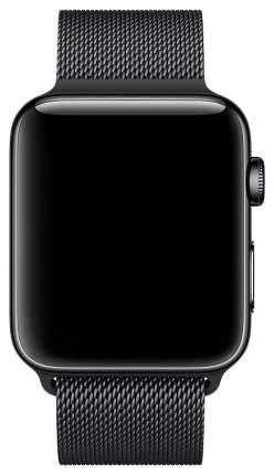 Ремешок для смарт-часов Apple Milanese Loop для Apple watch 42 mm silver (MLJH2ZM/A)