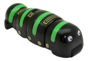 Интерактивный робот Joy Toy Червь Покоритель металла зеленый