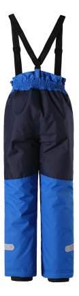 Брюки детские Reima Winter pants черно-голубые р.110