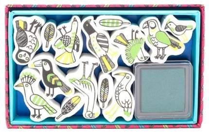 Набор для рисования DJECO Птицы 9791