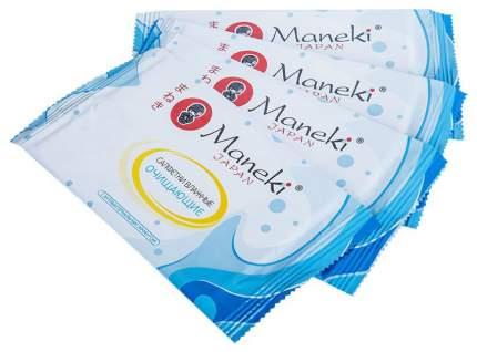 Влажные салфетки Maneki Kaiteki Очищающие 15 шт