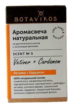 Ароматическая свеча Botanika Ветивер, кардамон 9166