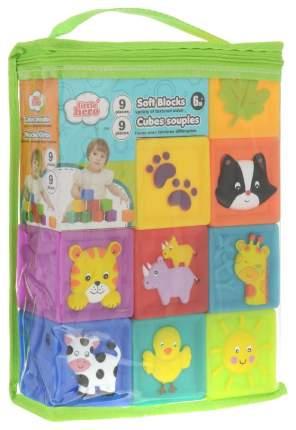 Игрушка развивающая Little Hero Мягкие кубики