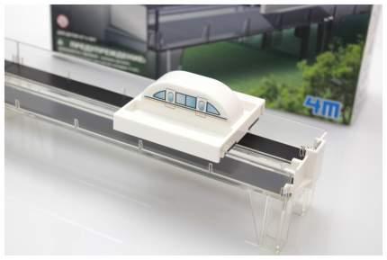 Железная дорога 4m поезд на магнитной подушке 00-03379