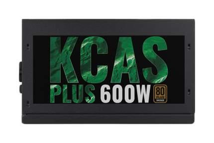 Блок питания компьютера Aerocool KCAS PLUS 600W