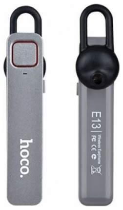 Гарнитура Bluetooth Hoco E13 Gray