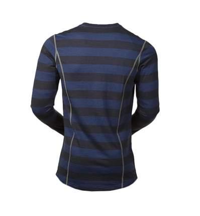 Лонгслив Bergans Akeleie Shirt 2019 мужской темно-синий/черный, S