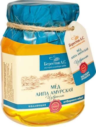 Мед натуральный Берестов А.С. липа амурская избранное 500 г