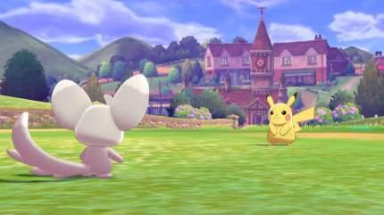 Игра Pokemon Shield. Day One Edition для Nintendo Switch