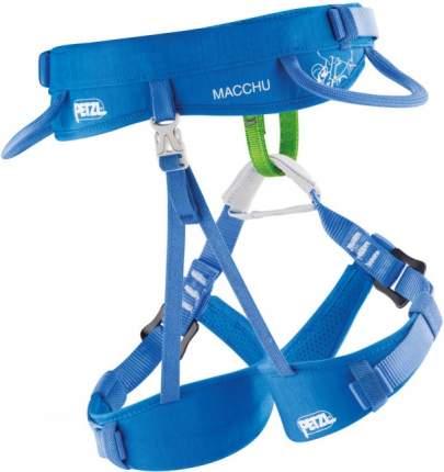 Страховочная система детская Petzl Macchu синяя