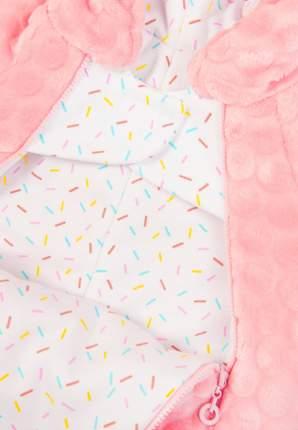 Комбинезон Сонный гномик Буль-буль розовый, размер 62