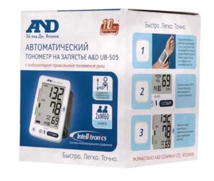 Тонометр A&D UB-505 автоматический на запястье
