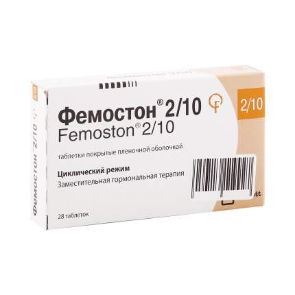 Фемостон таблетки 2 мг+10 мг 28 шт.