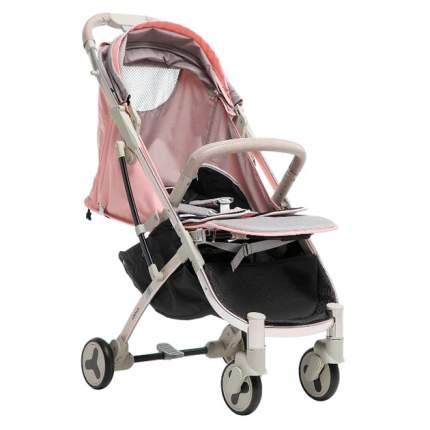 Прогулочная коляска Farfello S600 серо-розовый