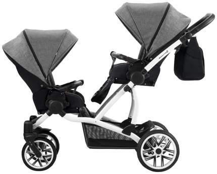 Прогулочная коляска для двойни Bebetto 42 Sport Черный/Серый WB137
