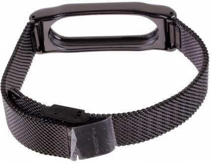 Ремешок-браслет Сетчатый металлический для Mi Band 2 Metal Mesh Strap Black