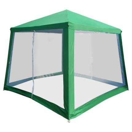 Шатер  со стенками-сетками Greenhouse P-30, зеленый, 240х240см
