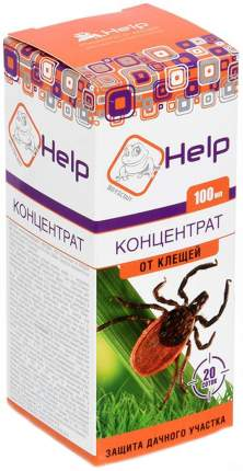 Уничтожитель насекомых BoyScout Help Концентрат от клещей для дачного участка 100 мл