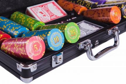 Набор для покера Partida Compas на 300 фишек