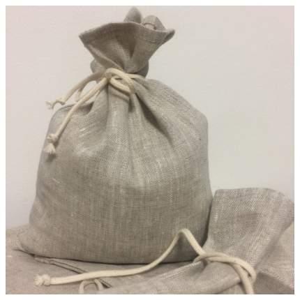 Нерафинированная садочная морская соль для ванн Море дома с льняным мешочком 5 кг