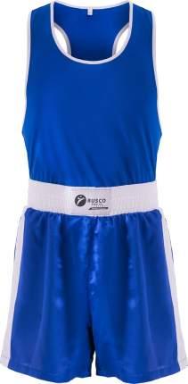 Форма боксерская Rusco Sport BS-101, детская, синий (38)