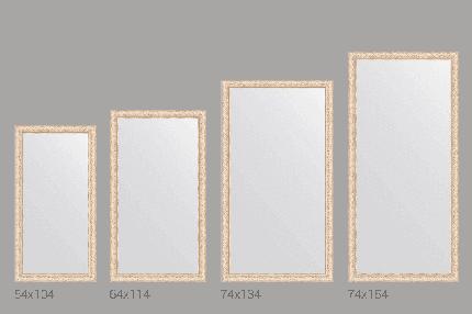 Зеркало настенное Evoform BY 1116 75х154 см, беленый дуб