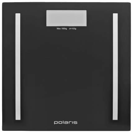 Весы напольные Polaris PWS 1827D Нержавеющая сталь, черный