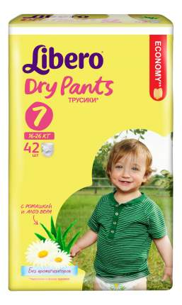 Подгузники-трусики Libero Dry Pants Size 7 (16-26кг), 42 шт.