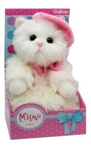 Мягкая игрушка Gulliver 24cm Кошечка Мими в беретике