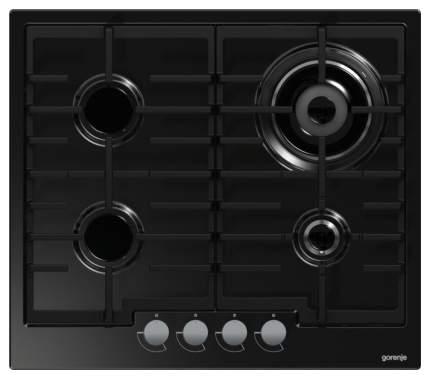 Встраиваемая варочная панель газовая Gorenje G65B Black