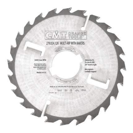 Пильный диск по дереву  CMT 277.024.12V