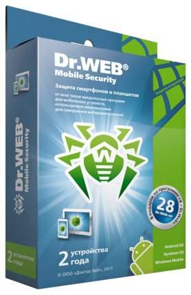 Антивирус Dr.Web Mobile Security BHM-AA-24M-2-A3 на 2 устройства 24 мес. BOX