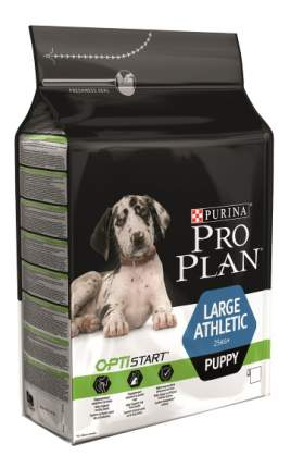 Сухой корм для щенков PRO PLAN OptiStart Large Athletic Puppy, крупные породы, курица,12кг