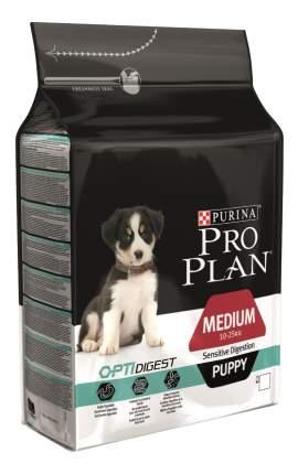 Сухой корм для щенков PRO PLAN OptiDigest Medium Puppy, для средних пород, ягненок, 3кг