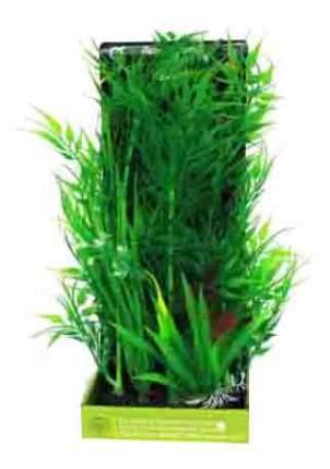 Искусственное растение для аквариума МЕЙДЖИНГ АКВАРИУМ искусственное растение №12 28см