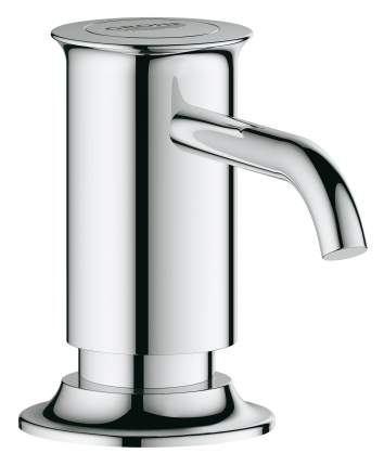Дозатор жидкого мыла GROHE Authentic встраиваемый в столешницу, хром