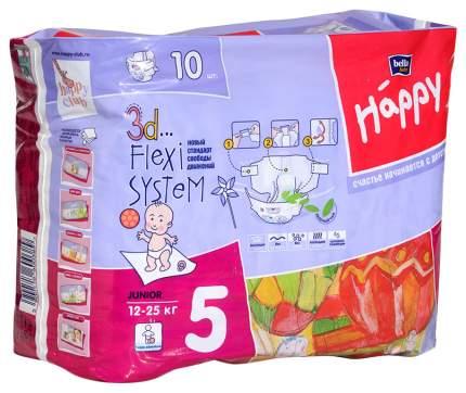 Подгузники Bella baby Happy Junior 5 (12-25 кг), 10 шт.
