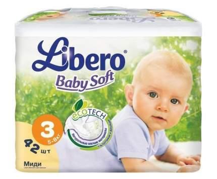 Подгузники Libero EcoTech Baby Soft 3 (5-8 кг), 42 шт.