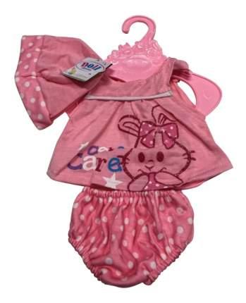 Платье, трусики, размер: 30x20 см, текстильные материалы для кукол Junfa toys