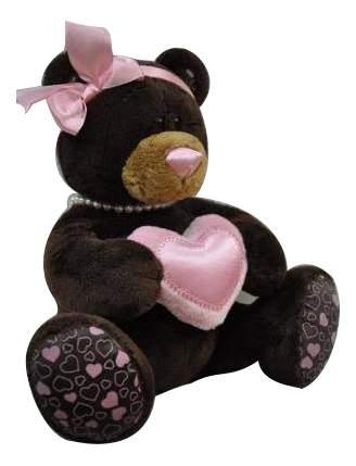 Мягкая игрушка Orange Toys Медведь девочка Milk с сердцем 20 см