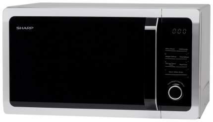 Микроволновая печь с грилем Sharp R-6852RSL silver