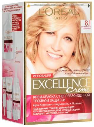 Краска для волос L`Oreal Paris Excellence Creme 8.1 Светло-русый пепельный