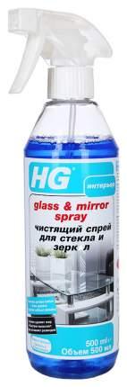Чистящее средство HG glass&mirror spray для стекол и зеркал 500 мл
